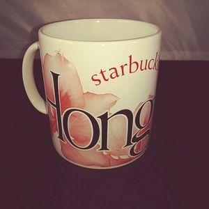 Starbucks 2006 City Mug Hong Kong Collector Series